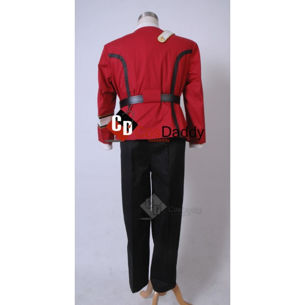 Star Trek TOS  II Wrath of Khan James T. Kirk Starfleet Uniform Costumes