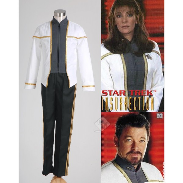 Star Trek TNG Insurrection Nemesis Uniform  Costume