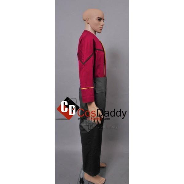 Star Trek Voyager Episode Endgame Harry Kim Uniform Cosplay Costume