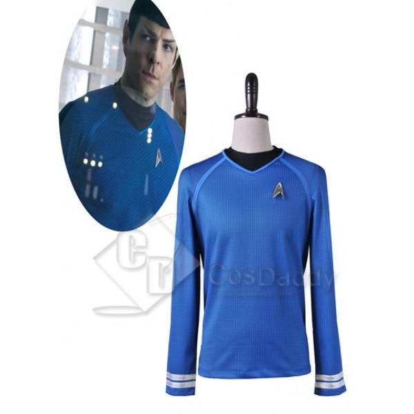 Star Trek Into Darkness Spock Shirt Uniform Cosplay Costume