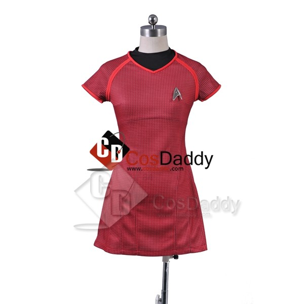 Star Trek Into Darkness Uhura Shirt Uniform Cospla...