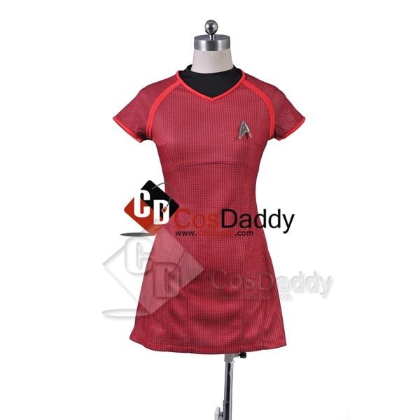 Star Trek Into Darkness Uhura Shirt Uniform Cosplay Costume
