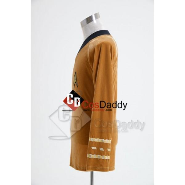 Star Trek TOS the Original Series  Duty Uniform Brown Velvet  T-Shirt