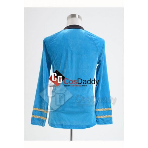 Star Trek TOS the Original Series  Duty Uniform Blue  T-Shirt