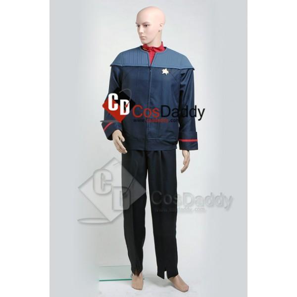 Star Trek Voyager Nemesis Captain Sisko Uniform Co...
