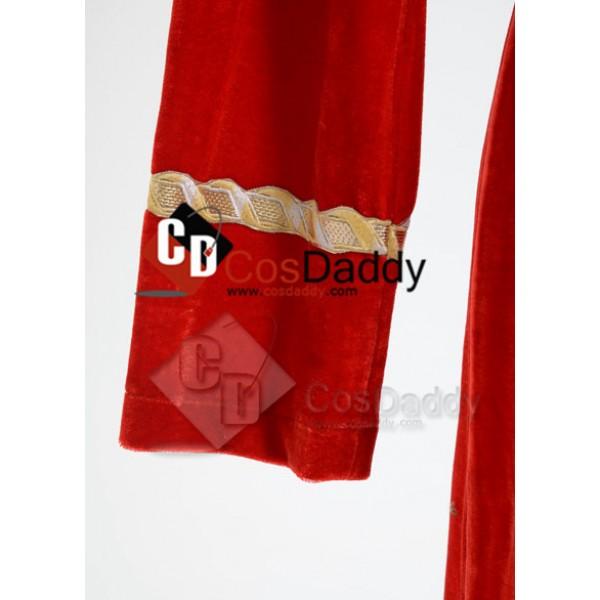Star Trek TOS The Original  Duty Uniform Red Velvet Dress