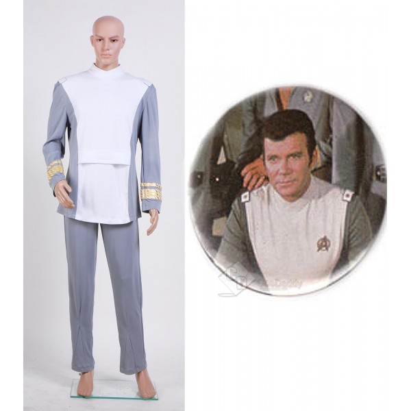 Star Trek TOS The Motion Picture Admiral Kirk Outfit Cosplay Costume