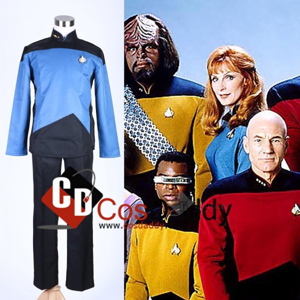 Star Trek TNG The Next Generation Uniform Cosplay Costume