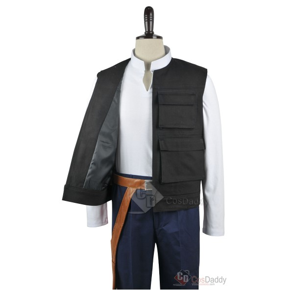 Star Wars ANH A New Hope Han Solo Cosplay Costume