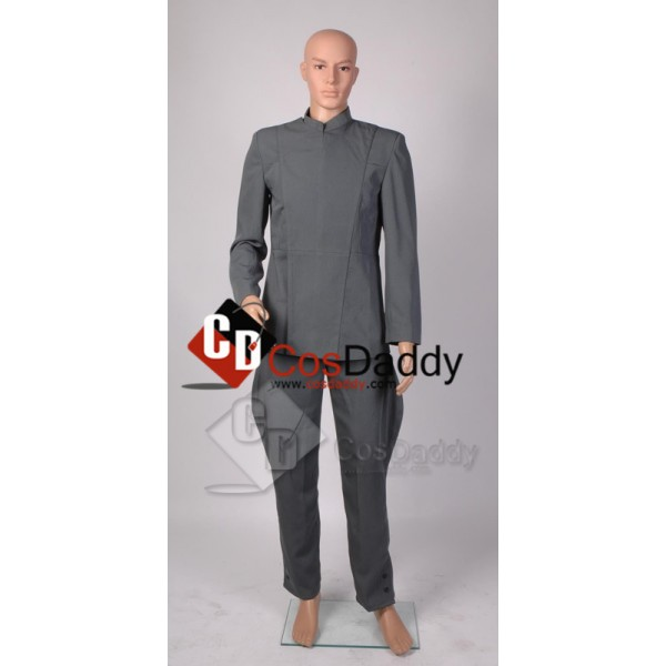 Star Wars Imperial Officer Uniform Grey Cosplay Costume
