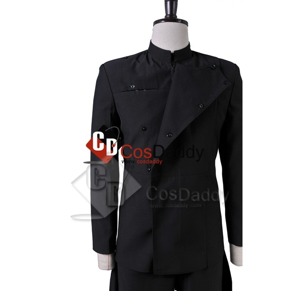Star Wars Imperial Officer Uniform Cosplay Costume Black Version