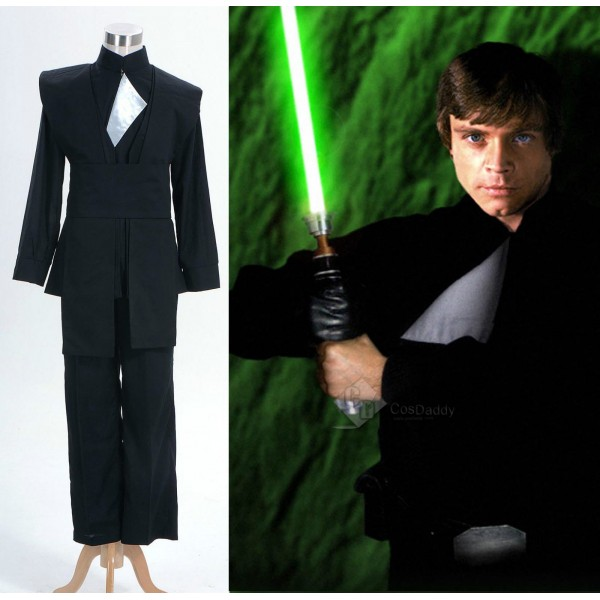 Star Wars Luke Skywalker Uniform Cosplay Costume