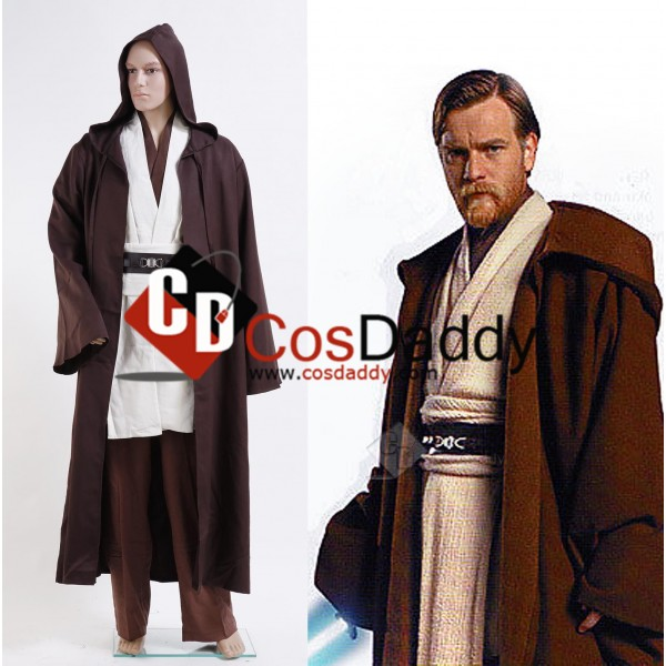 Star Wars Obi-Wan Kenobi Jedi Cosplay Costume