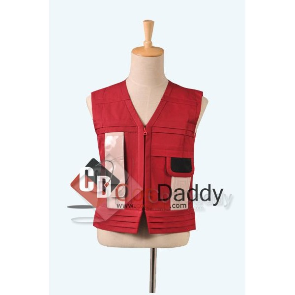 Star Trek TOS II: The Wrath of Khan Red Vest  Cost...