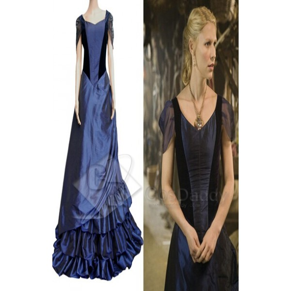Stardust Yvaine Blue Gown Dress Cosplay Costume