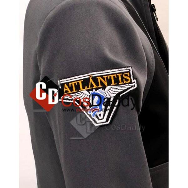 Stargate Atlantis John Sheppard Jacket Pants Uniform Cosplay Costume
