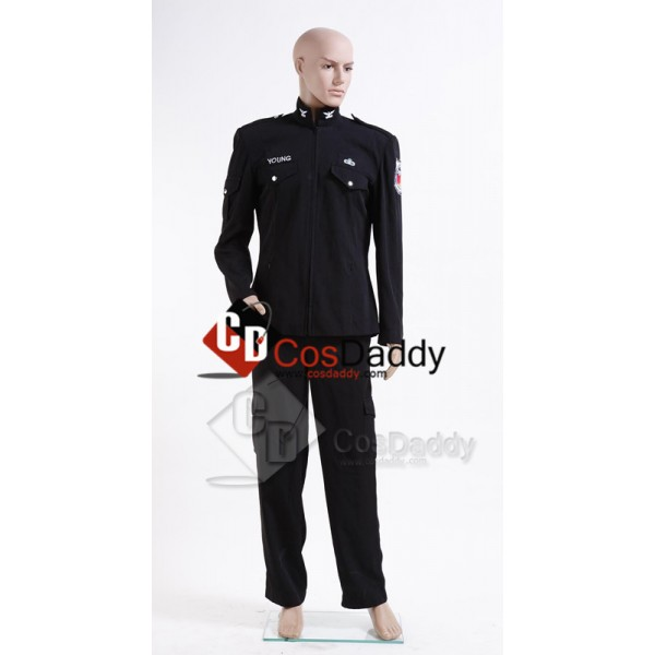 Stargate Universe SGU Black Uniform Jacket Pants C...