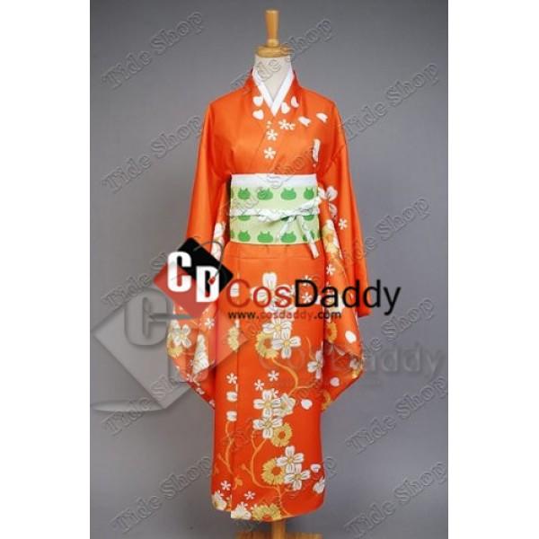 Super Danganronpa 2 Hiyoko Saionji Kimono Cosplay ...