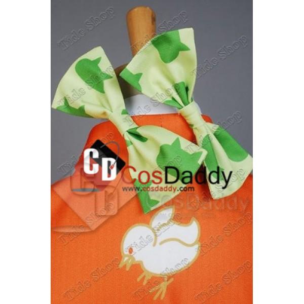 Super Danganronpa 2 Hiyoko Saionji Kimono Cosplay Costume