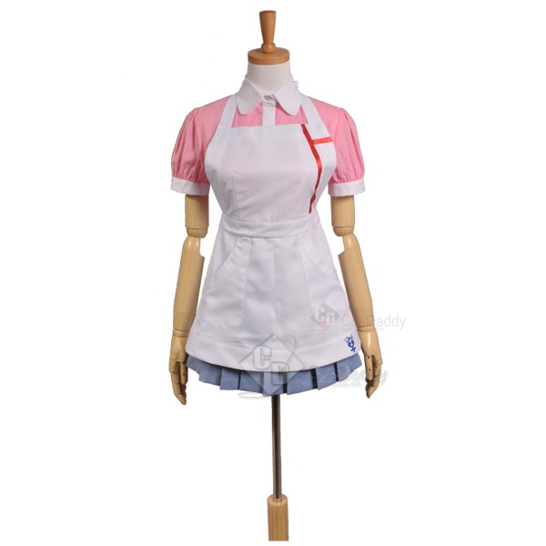 Super Danganronpa 2 Mikan Tsumiki Dress Cosplay Co...