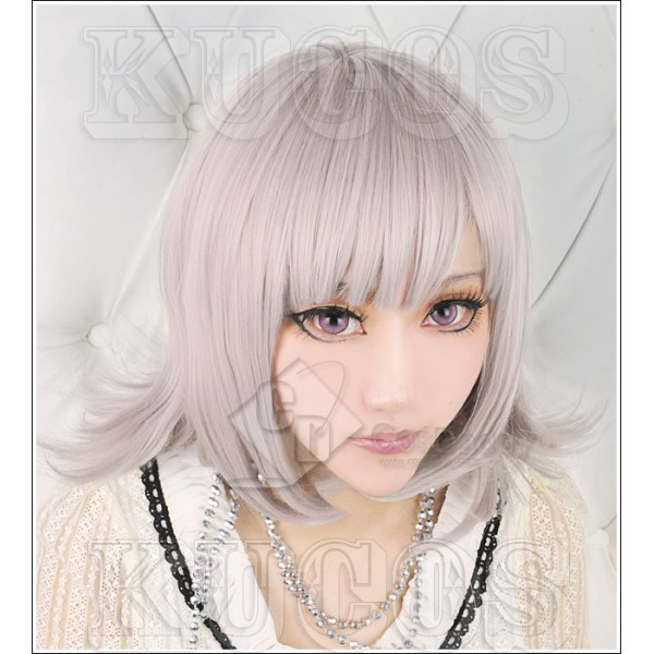 Super DanganRonpa Chiaki Nanami Cosplay Wig