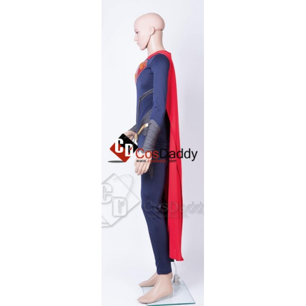Superman Man of Steel Cosplay Costume 2013 Style