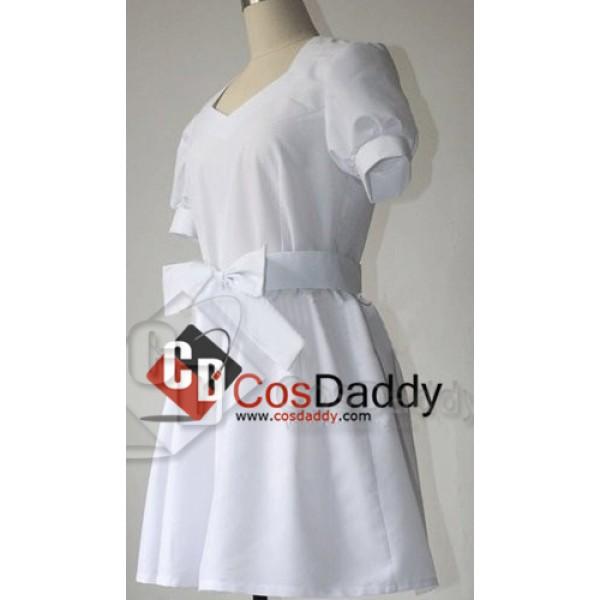 Sword Art Online Ai Yui White Dress Cosplay Costume