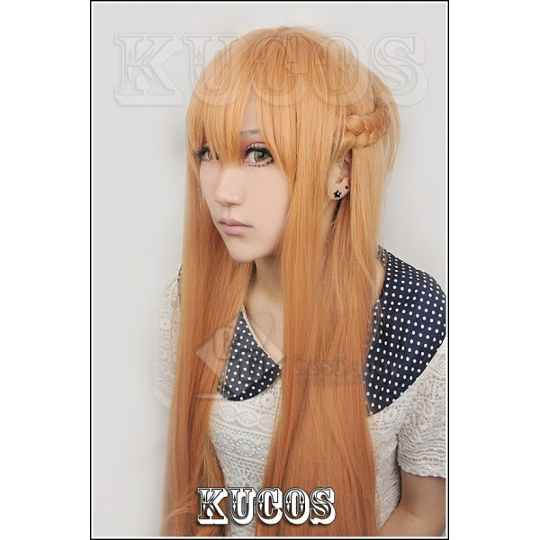 Sword Art Online Asuna Cosplay Wig