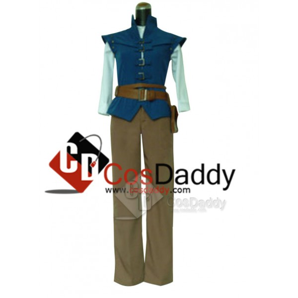 Tangled Prince Flynn Rider Cosplay Costume