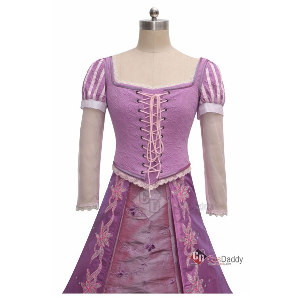 Tangled Princess Rapunzel Dress Cosplay Costume