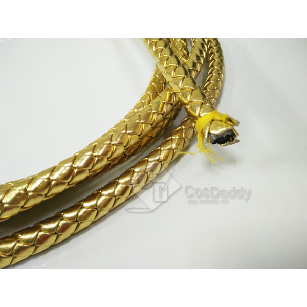 CosDaddy Wonder Woman lasso of truth golden whips Adult