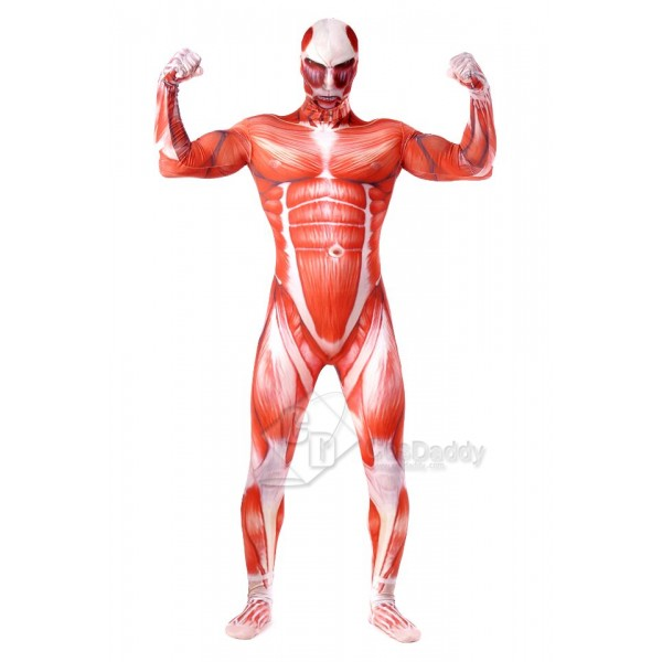 Attack on Titan Titan Jumpsuit Cosplay Costume