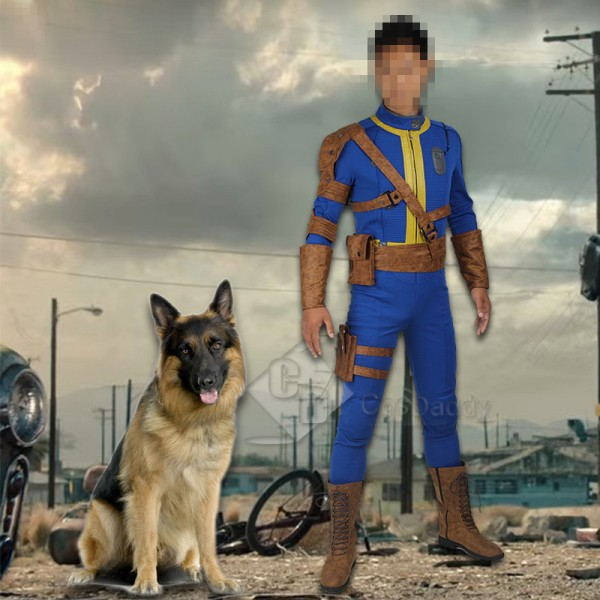 Cosdaddy Fallout 4 FO Nate Vault #111 Outfit Jumps...