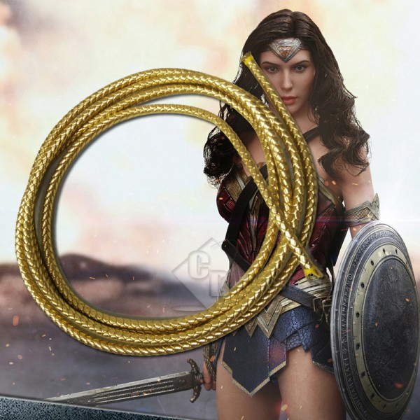 CosDaddy Wonder Woman lasso of truth golden whips ...