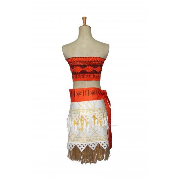Desiney Moana  Dress Cosplay Costume
