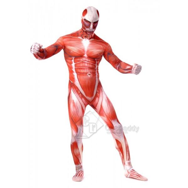 Attack on Titan Titan Jumpsuit Cosplay Costume
