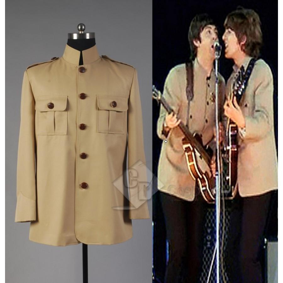 The Beatles at Shea Stadium Jacket Costume Halloween Carnival Uniform Suit
