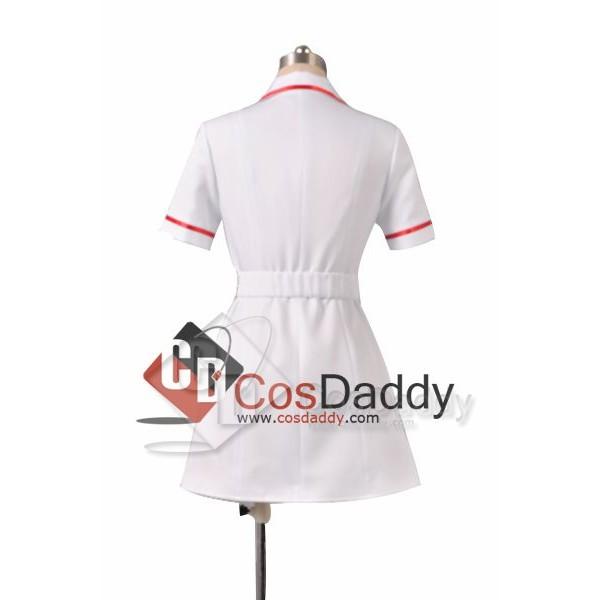 Batman:The Dark Knight Joker Nurse Uniform Cosplay Costume