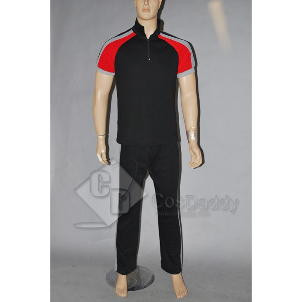 The Hunger Games Replica District 12 Training Suit Cosplay Costume