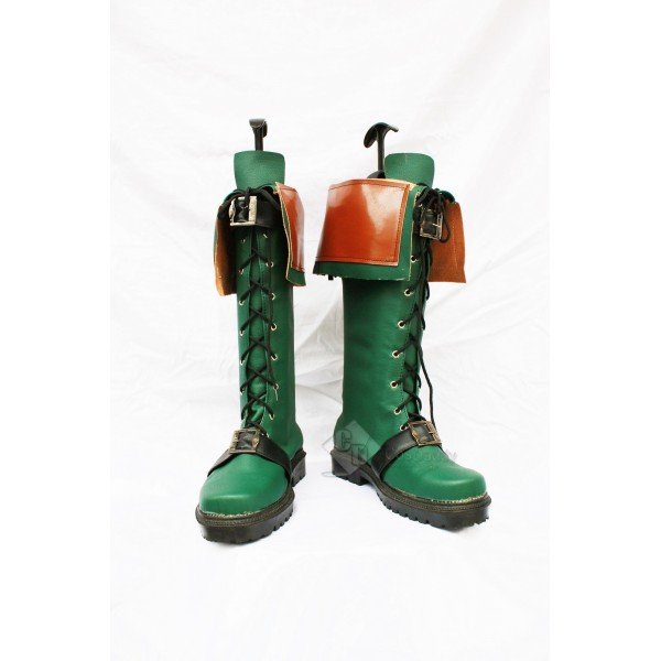 The Legend of Heroes: Trails in the Sky Agate Crosner Cosplay Boots Shoes