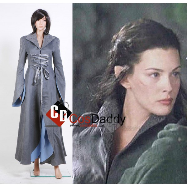 The Lord of the Rings Arwen Chase Dress Cosplay Co...