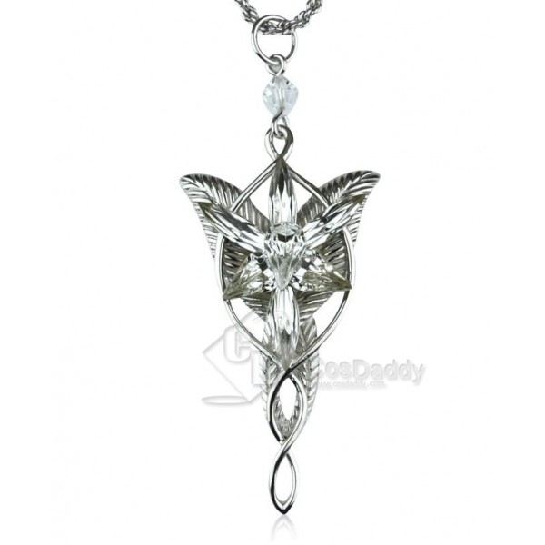 The Lord of the Rings Arwen Evenstar Necklace Silver