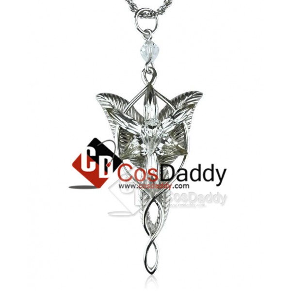 The Lord of the Rings Arwen Evenstar Necklace Silv...