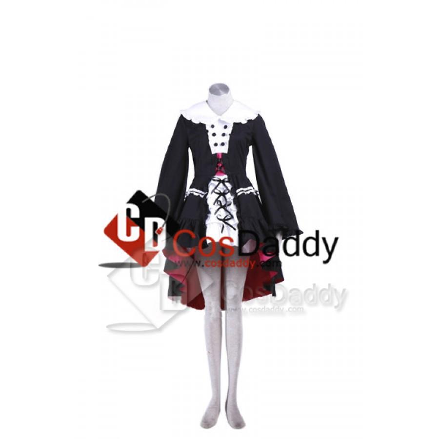 Anime Panty/&Stocking With Garterbelt Lolita Maid Dress Uniform Cosplay Costumes