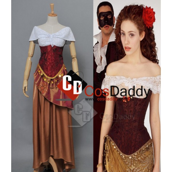 The Phantom of the Opera Christine Daae Dress Cosp...