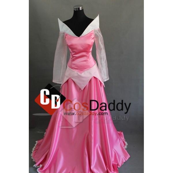 Disney The Sleeping Beauty Ballet Aurora Princess Dress Cosplay Costume
