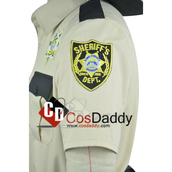The Walking Dead Sheriff Rick Grimes Cosplay Costume