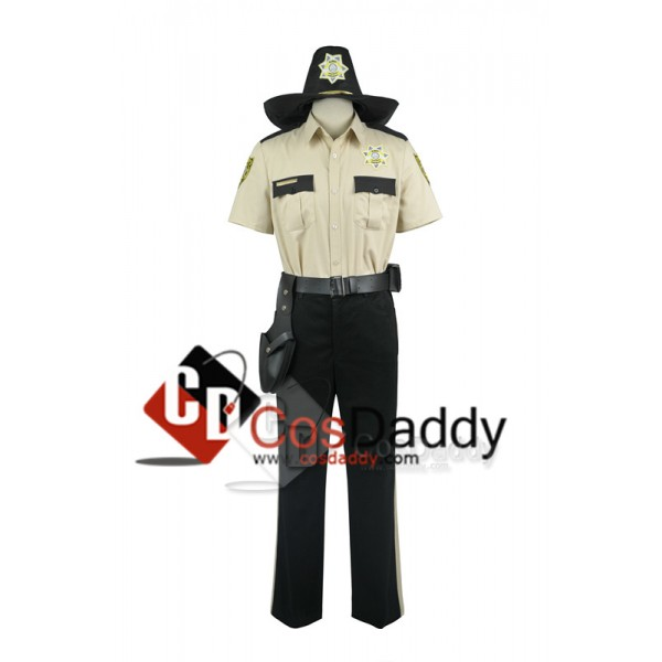 The Walking Dead Sheriff Rick Grimes Cosplay Costu...