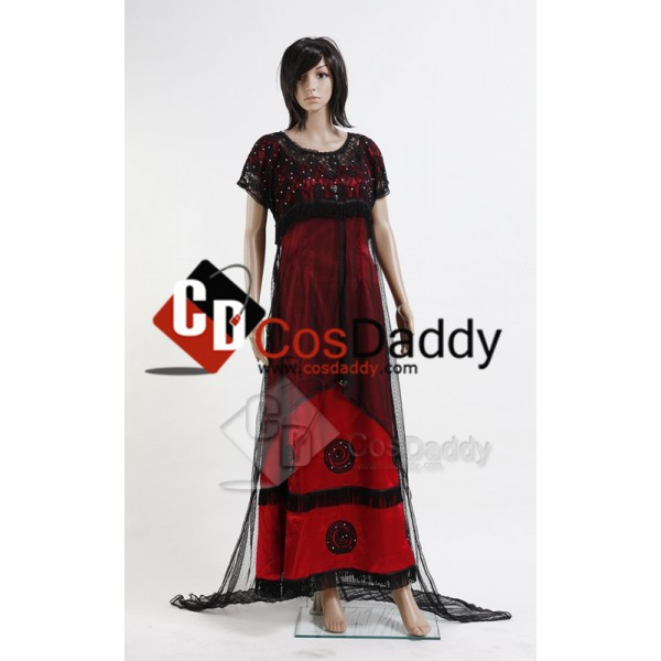 Titanic Rose Jump Robe Victorienne Cosplay Costume