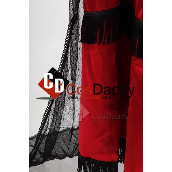 Titanic Rose Jump Robe Victorienne Cosplay Costume